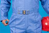 65% Poliéster 35% Algodón largo de la manga de alta seguridad quolity con reflectante Mono (BLY1023)