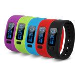 Wristband спорта сна отслежывателя пригодности вахты Bluetooth франтовской