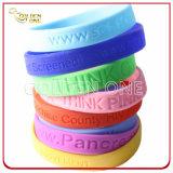 Promotion Cadeau Vente en gros Custom imprimé Silicone Wristband