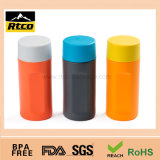 RoHS Passed TPR Materials Bottle Plastic Canister con Different Color e Size
