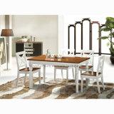 喫茶店(HW-6096T)のための方法木のダイニングテーブル