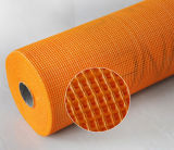 Red Álcali-Resistente 5X5m m, 125G/M2 de la fibra de vidrio