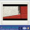 Панель стены форменный акустической панели деревянных шерстей декоративная звукоизоляционная