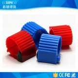 Gemaakt in ABS van China Lf/Hf/UHF de Markering van de Ring van de Voet van de Duif RFID