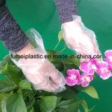 Домоец выбивая обрабатывающ устранимый PE варя перчатку