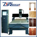 Router de madeira do CNC da única cabeça, máquina de corte do CNC para o relevo da mobília