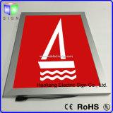 알루미늄 광고를 위한 가벼운 표시를 가진 황급한 프레임 클립 프레임 가벼운 상자