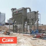 Máquina de moinho de pó de lixo granulado granulado de terra