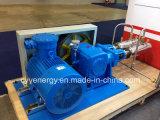 Flux de service ininterrompu de Cyyp 75 grand et pompe à piston Multiseriate de GNL d'oxygène liquide d'argon à haute pression d'azote