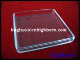 La grande pureté adaptent le laser aux besoins du client cannelant la fenêtre en verre de quartz de silice