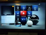 Casella combinata di IPTV e sintonizzatore di DVB con WiFi ed il browser del Internet