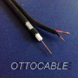 De Coaxiale Kabel 75ohms van uitstekende kwaliteit (RG6+2C)