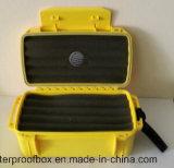 con la custodia in plastica a tenuta d'acqua del contenitore di plastica impermeabile del sigaro dell'umidificatore