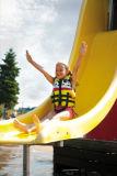 Спасательный жилет, отражательный, тельняшка безопасности, Swimwear, спорты воды Wm-230