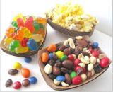 Bandeja del alimento del papel de Kraft de la categoría alimenticia