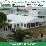 De tijdelijke Grote Tent van de Conferentie voor Gebeurtenis