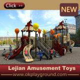 高品質の子供(X1506-12)のための耐久のプラスチック運動場装置