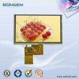 5inch 800X480 TFT LCD écran 250CD / M2 écran LCD 40pin