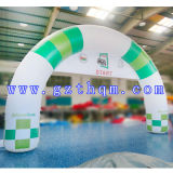 Voûte gonflable de publicité gonflable 0.6mm d'épaisseur de la voûte de bâche de protection attrayante de PVC