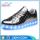 중국 여자 구두 공장 LED 단화