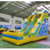Kidsのための子分Cartoon Inflatable SlideかInflatable Water Slide