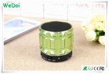 Precio de fábrica para el mini altavoz sin hilos metálico de Bluetooth con la radio del TF Card/FM (WY-SP04)