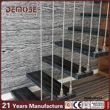 Escalera flotante de la pisada de madera contemporánea (DMS-6021)