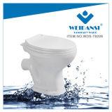Weidansi África de cerámica se lava abajo P-Atrapa dos pedazos del tocador (WDS-T6209)
