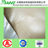 Hitte - de verzegelende Bidirectionele Aluminiumfolie Kraftpapier van het Grof linnen
