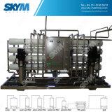 2000 sistemas de ósmosis reversa del sistema del RO del equipo del tratamiento de aguas del l./h