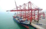Overzees die van Shenzhen aan Djakarta verschepen