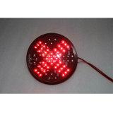 Pfeil-Ampel-Baugruppe des neuer Entwurfs-rote Grün-LED 200mm