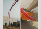 A8 40 M3/H Concrete Boom Pump Truck avec Concrete Mixer pour Construction