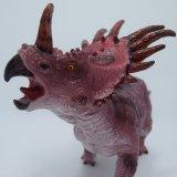 コレクションの漫画のビニールの恐竜のおもちゃ