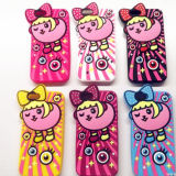 iPhoneのための上のFashion Soft Cell Phone Silicon Skin Cover