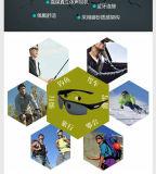 Les lunettes de soleil sans fil de Bluetooth des écouteurs V4.1 ont polarisé les écouteurs anglais de musique de voix de lentille