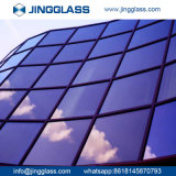 La seguridad al por mayor de la construcción de edificios endureció el vidrio teñido coloreado de cristal