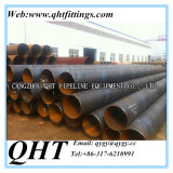 Api 5L gr. B Psl1 Carbon Black Painting SSAW Welded Steel Pipe