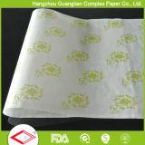 Trazadores de líneas antiadherentes impermeables a la grasa de la cacerola del papel de pergamino de Ovenable