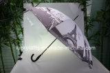 Прямой гольф рекламируя зонтик с тканью Pongee печатание передачи тепла