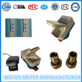 Tipo molhado esperto pagado antecipadamente medidor de água do cartão do RF de Dn15mm
