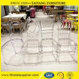 Heet verkoop de AcrylStoel van Chiavari van de Huur van het Huwelijk van de Hars Plastic