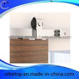 Ferragem deslizante interior das portas de celeiro da porta luxuosa da madeira contínua