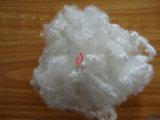 Matérias- primas da edredão altamente elástica com fibra de grampo de poliéster 1.2D a 15D