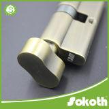 すべての固体真鍮の熱い販売法の倍開いたシリンダーロック(SKT-C030)