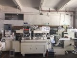 Kennsatz-Rolle sterben Scherblock-Maschine mit Laminierung + heißes Stempeln