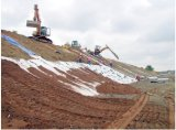 Geotextile Geomembrane Geosynthetic 찰흙 강선 셀 방식 금고