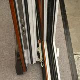 Puerta deslizante Kz199 del marco de madera de aluminio de la alta calidad