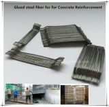 Extremidade enganchada Glued Steel Fiber para Pre-Cast Cement ou Concrete Factory Outlets Center