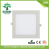 Hangzhou Linan 18watt Square DEL Panel Light Price, 18W Panel